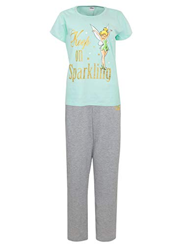 Disney Womens' Tinkerbell Pajamas Size Medium Multicolored ()