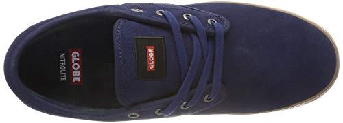 13255 scuro Motley Blu da uomo Globe blu gomma Scarpe Skateboard 60qZ0zSnwR