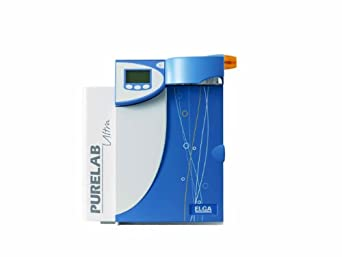 Elga ULXXXSCM2 Purelab Ultra Scientific Water Purification System with TOC Monitoring, 18.2 Megohm-cm Resistivity, 3 to 10 ppb TOC, 2 LPM Output, Type 1 Standard
