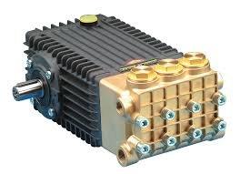 Pump, Triplex, 5.5GPM@5100PSI, 1450 RPM, 24mm Solid Shaft by General Pump