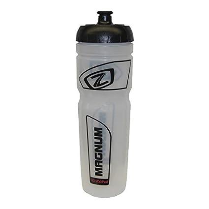 Zefal Magnum - Botella de plástico para agua, color blanco