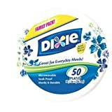 Dixie Plates, Everyday, Family Pack, 50 ct