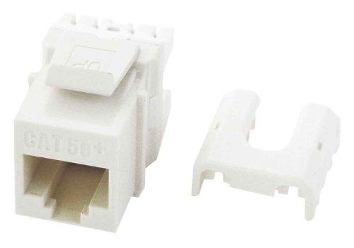 (Legrand - On-Q WP3475WH50 RJ45 Cat5e QC Keystone Insert (50 pack), White )