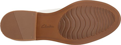 Clarks Artisan Mujeres Edenvale Opal Casual Oxford White Leather