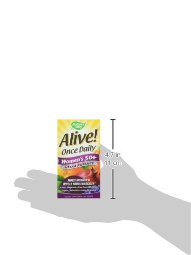 033674156926 - Nature's Way Alive! Once Daily Women's 50+ Multi-Vitamin, Ultra Potency, 60 Tablets carousel main 7