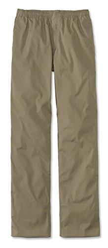 Orvis Men's Bush Poplin Drawstring Pants, Mushroom, 36W X 29L Mens Bush Poplin