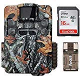 Browning Strike Force Pro XD Trail Camera (24MP) with 16GB Memory Card and Memory Card Reader | BTC5PXD (Game Camera Strike Force)
