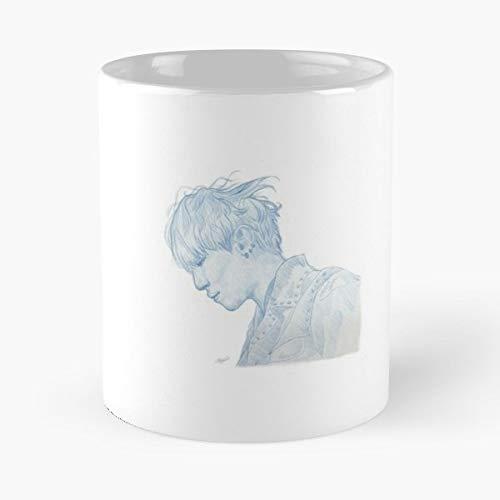 Sungjin Day6 Blue Bleu Gift Coffee/tea Ceramic Mug Father Day