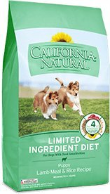 California Natural Lamb Meal & Rice Puppy Food - 26 lb