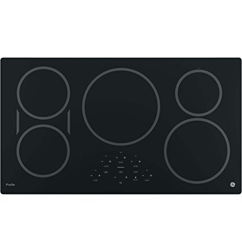 GE PHP9036DJBB Profile 36 Black Electric Induction Cooktop
