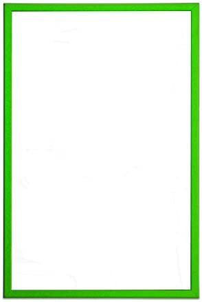 Bi-Office MM01001251 Trocken abwischbare Magnettafel, MDF Rahmen, lackierter Stahl, 40 x 30 cm, grün