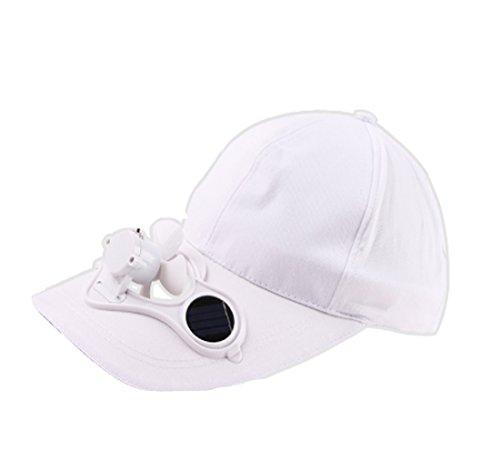 elt Recharge Storage Belt Switch Fan Cap Sun hat Peaked Cap Adjustable Size ()