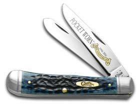 - Case 26293 Pocket Worn Denim Bone 6254 SS Trapper Knife