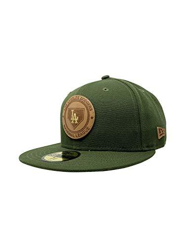 Vintage Hat Era (New Era Los Angeles Dodgers 59FIFTY MLB Fitted Cap Baseball Hat (7 3/8, Vintage Olive))