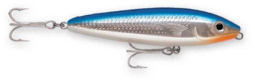 Rapala Saltwater Skitter Walk - Rapala Saltwater Skitter Walk 11 Fishing lure, 4.375-Inch, Blue Mullet