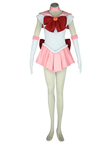 OURCOSPLAY Child Sailor Moon Chibi USA Small Kids Cosplay Costume 7 Pcs Set (Child L(XXS))]()