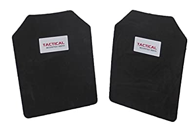 Tactical Scorpion Gear 10mm Paintball Airsoft Pair 11 x 14 Protective Vest Plates