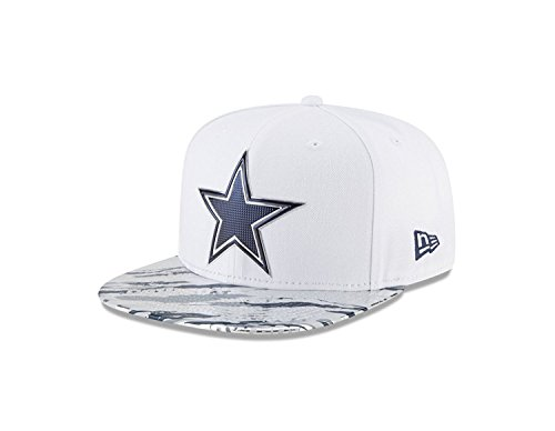 New Era 9Fifty Hat Dallas Cowboys NFL 2016 On Field Color Rush Snapback Cap (Shield New Era)