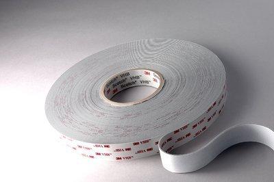 3M 1//2 in x 36 yd 45.0 mil Tape 4946 White 1//2x36yd 4946
