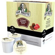 Van Houtte Raspberry Chocolate Truffle Coffee K-Cups, 18 upon(Case of 2)