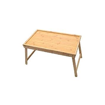Bandeja de madera para desayuno Ardisle bandeja para servir en la cama mesa para portá