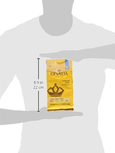 GEVALIA Traditional Roast Coffee, Mild, Whole Bean, 12 Ounce, 6 Pack by Gevalia (Image #5)