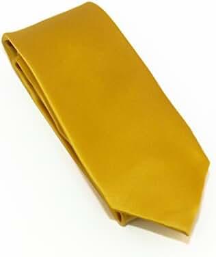100% Silk Satin Solid Color Tie