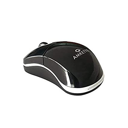 09c53c4d352 Amazon.in: Buy Amkette 2.4 GHz Fio Wireless Optical Mouse with 1000 DPI  Sensor, Nano Receiver Online at Low Prices in India | Amkette Reviews &  Ratings