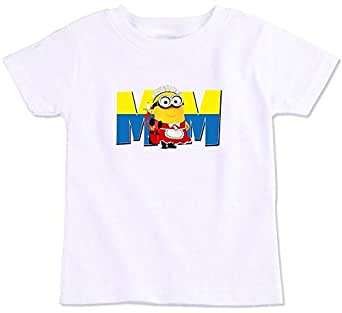 Mom Minion Family Matching T-Shirt - Mummy Pig, Medium
