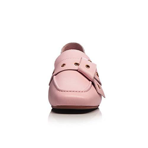 dames Urethane 1to9 reisschoenen Mms06558 roze geplooide EUxS5FOwqx