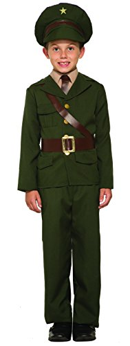 Forum Novelties Army Officer Costume, Small