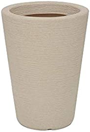 Vasart Terra Vaso de Flores Cone, Granito Areia, 30x40cm