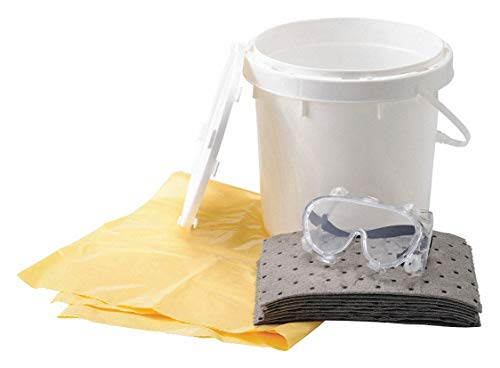 Spill Kit/Station, Bucket, Universal, 4.5 gal.