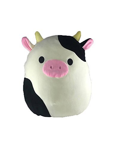 Kellytoy Squishmallow Connor the Cow 16'' Super Soft Plush Toy Pillow Pet Pal Buddy (16 inches)