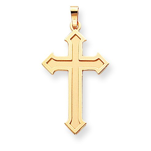Passion 14 Carats Pendentif croix-JewelryWeb