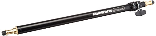 Manfrotto 122B Adjustable Pole for Back Light Stand with Variations from 21-Inches to 33-Inches (Black)