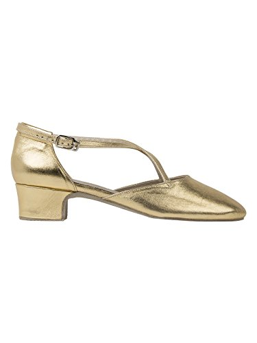 Torso de zapatos de baile 2021 Broadway 3,0 cm apartado de oro