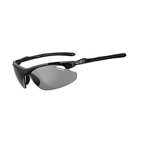 (Carbon 2016 Tifosi Tyrant 2.0 Carbon Polarfoto Smoke Lens Sunglasses)