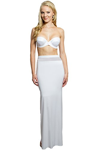 Slimming Shapewear Slip for Bridal Dresses, Wedding Dress, Women Evening Dresses, Beach Weddings - High Waist. Waist Cincher Tummy Control Compression Lining, No Sheer Mother of the Bride Dress - Look Stunning in Special Occasion Dress - Buy Now!