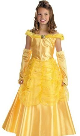 Beauty and the Beast Belle Costume Girl - Child 7-8