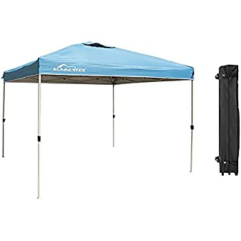 Summates 10X10ft Instant CanopyPop Up Canopy?Booth CanopyColor Light Blue  sc 1 st  Amazon.com & Amazon.com : Summates 10X10ft Instant Canopy Pop Up Canopy?Booth ...