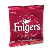 - Folgers 06114 Coffee Filter Packs, Classic Roast.9oz, 160/Carton