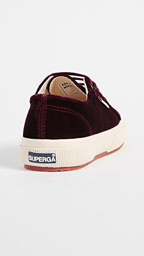 Womens Bordeaux Superga Bordeaux Superga 2750 2750 Superga Womens Velvetw Velvetw IwR7Bwq