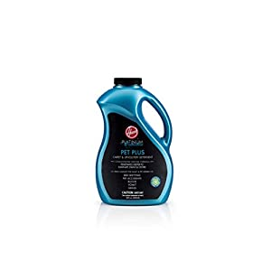 HOOVER AH30575 Carpet Cleaner and Upholstery Detergent Solution, Platinum Collection Professional Strength Pet Plus Formula, 50oz