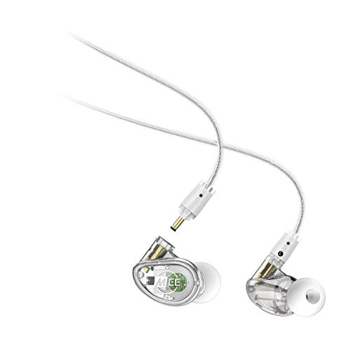MEE Professional MX2 PRO Customizable Noise-Isolating Universal-Fit Modular Musician's in-Ear Monitors (Clear) (Best In Ear Monitors Under 200)