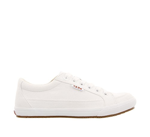 Canvas Footwear Sneaker Star White Moc Taos Women's x4HqCwUA
