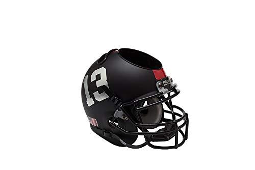 NCAA Fresno State Bulldogs Black Helmet Desk Caddy, One Size
