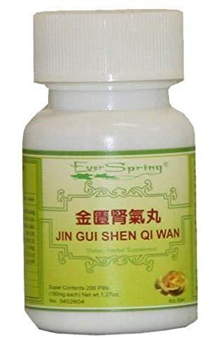 Jin Gui Shen Qi Wan (Rehmannia 8 - Kidney Qi Pill from the Gold) - 200 ct. ()
