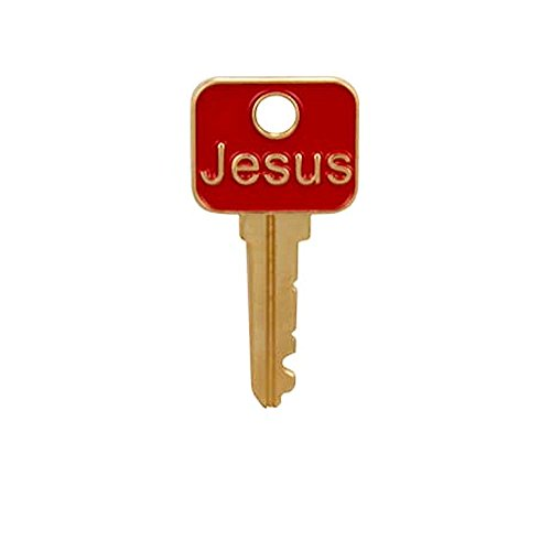 Jesus Is the Key Christian Lapel Pins Set of 3 Pins