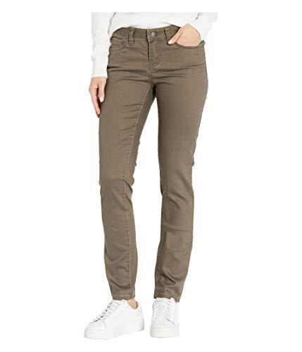 prAna Women's Standard Kayla Jean-Regular Inseam, Dark Mud, 6 Reg